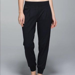 Lululemon Black Jogger Party Pant
